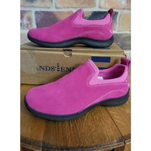 Lands' End Ladies Suede All Weather Shoes